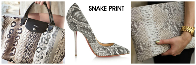 Reptile prints