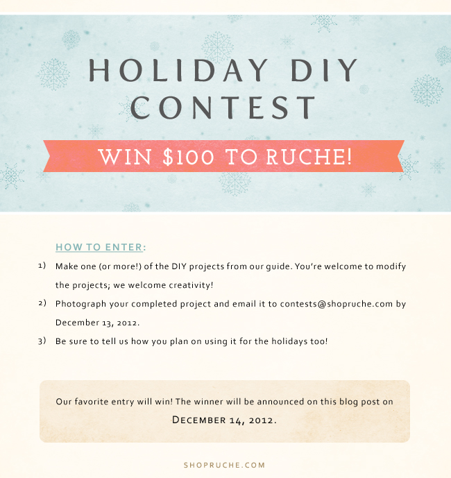 Highly engaging and sales driven Contest. Example from: shopruche.com